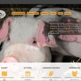 Nieuwe website van de Bonte Bentheimer live!